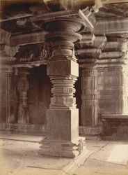 Pillar details of Hanumkonda Temple